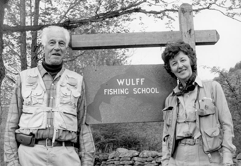 Lee Wulff, Joan Wulff, Wulff School of Fly Fishing